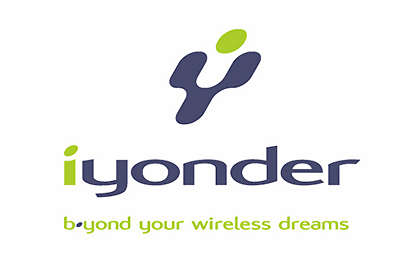 Iyonder wireless technologies logo design