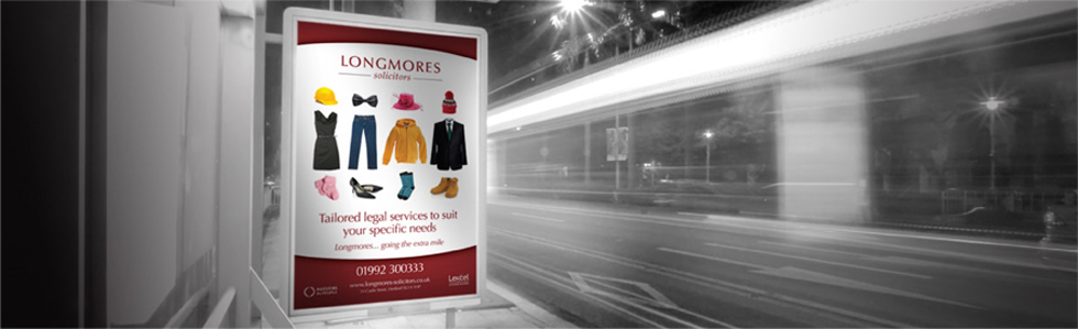 Longmores Solicitors Advertising