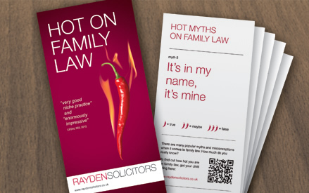 Solicitor Leaflet Design and Print