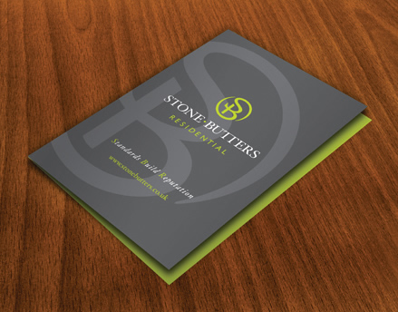 Stone Butters Estate Agent Brochure Design