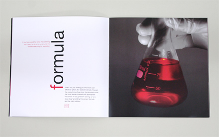 Brochure Design for Couirer Companies